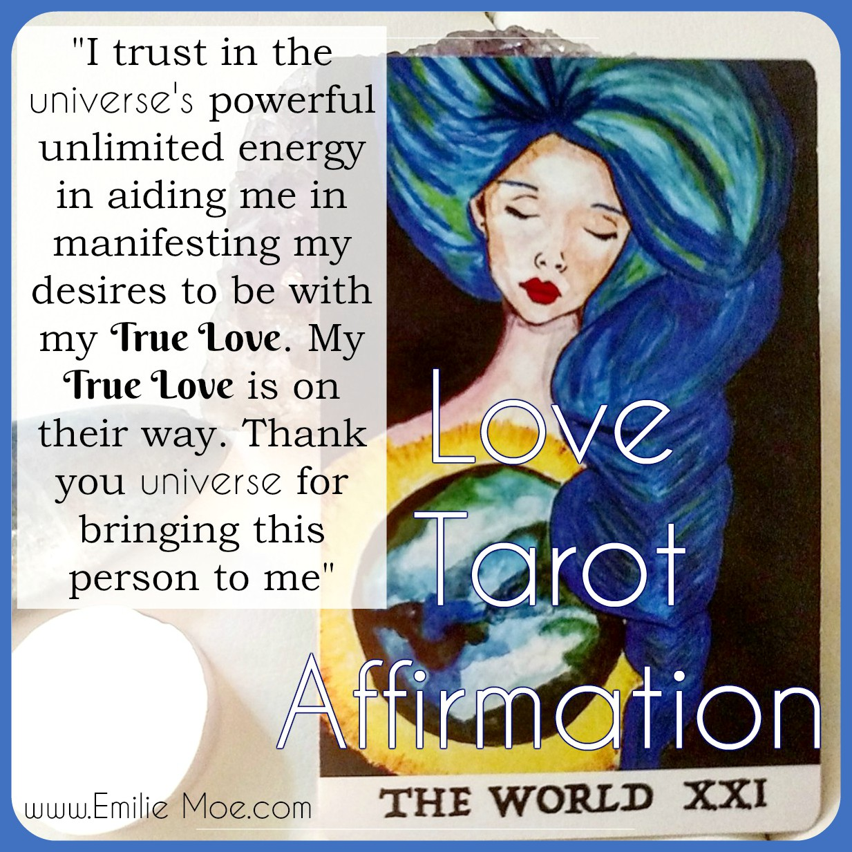 Love Tarot Affirmations ⋆ Tarot By Emilie - Psychic Readings
