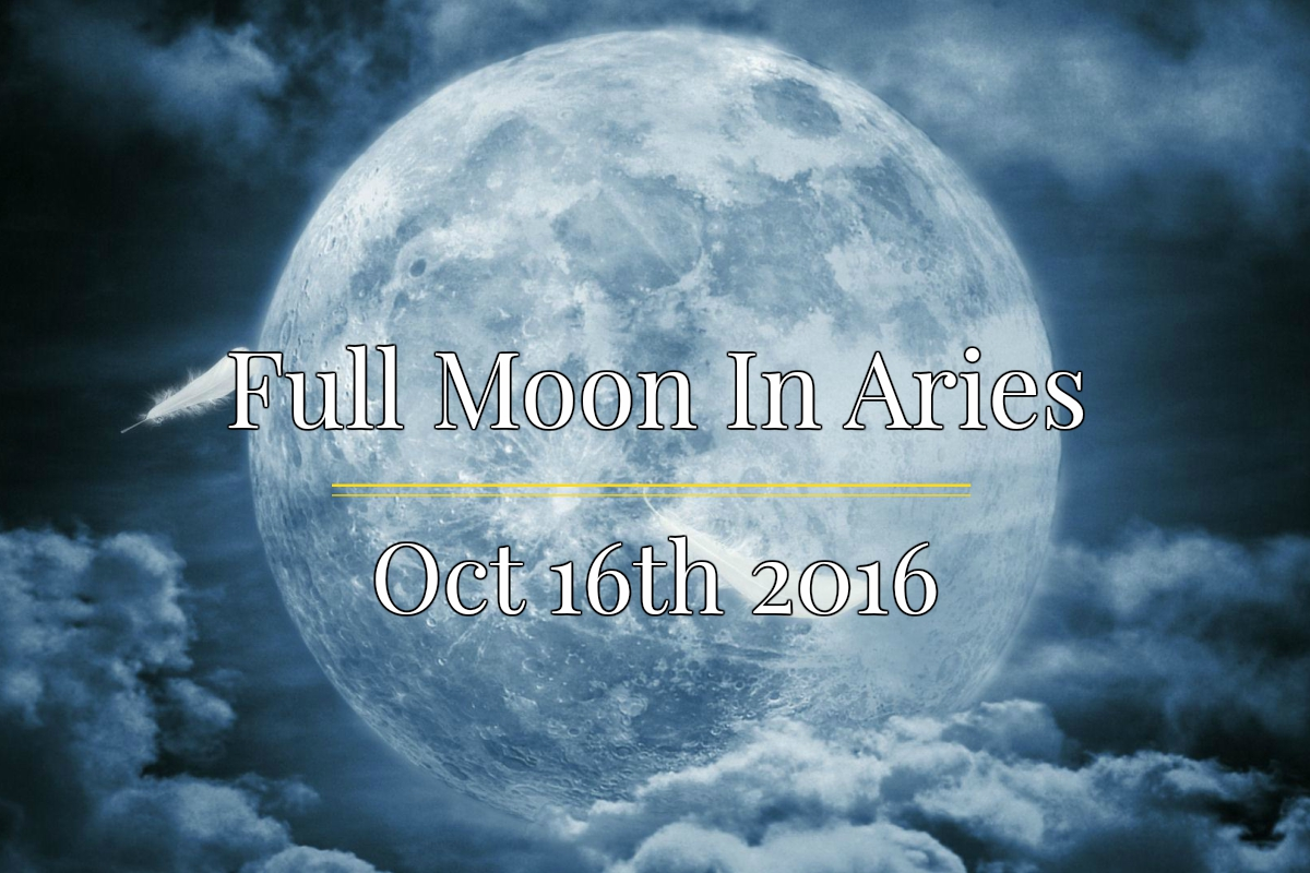 Full Moon In Aries October 16th